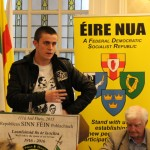 A representative of Na Fianna Éireann